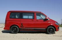 Vw T6 California side