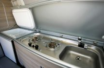 Vw T6 California kitchen