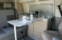 Vw T6 California table