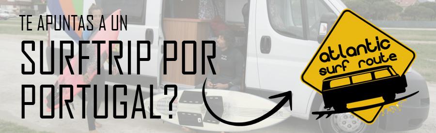SURFTRIP CON FURGO POR PORTUGAL